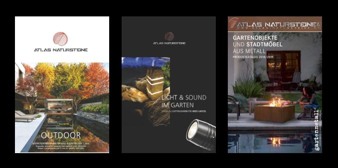 Atlas-Natursteine AG Marthalen Produkt-Kataloge